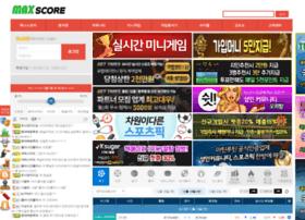 Maxscore.co.kr thumbnail