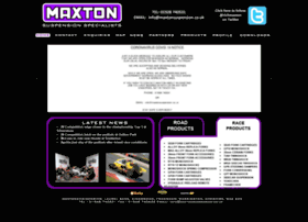 Maxtonsuspension.co.uk thumbnail