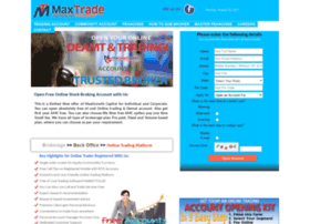 Maxtrade.co.in thumbnail