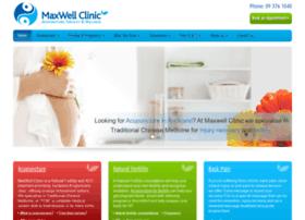 Maxwellclinic.co.nz thumbnail