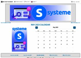 May-calendar.com thumbnail