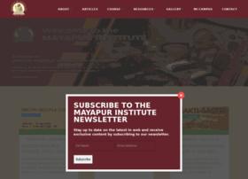 Mayapurinstitute.org thumbnail