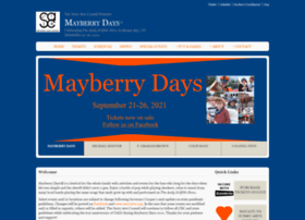 Mayberrydays.org thumbnail