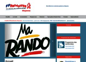 Mayenne.ffrandonnee.fr thumbnail