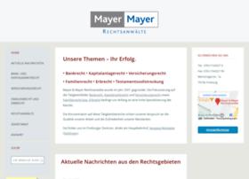Mayerlaw.de thumbnail