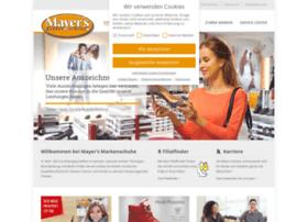 Mayer's Markenschuhe | Ihr Schuhfachhändler für die ganze