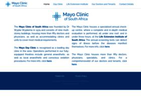 Mayoclinic.co.za thumbnail