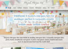 Maypolemarquee.co.uk thumbnail