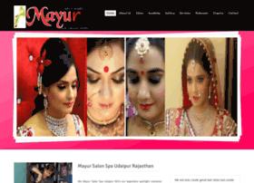 Mayursalonspaudaipur.com thumbnail