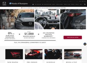 Mazdaofbrampton.ca thumbnail