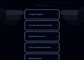 Mcafeeactivatee.uk thumbnail