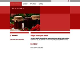 Mcbublinka.webnode.sk thumbnail