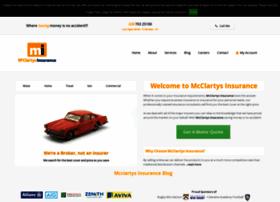 Mcclartysinsurance.co.uk thumbnail