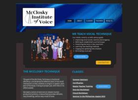 Mcclosky.org thumbnail