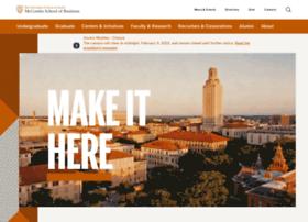 Mccombs.utexas.edu thumbnail