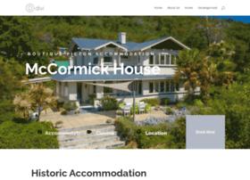 Mccormickhouse.co.nz thumbnail