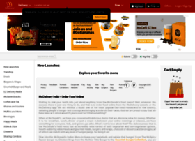 Mcdelivery.co.in thumbnail
