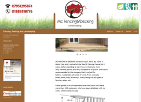 Mcfencinganddecking.co.uk thumbnail