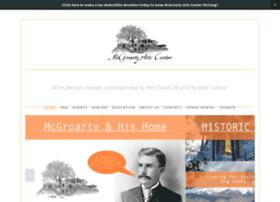 Mcgroartyartscenter.org thumbnail