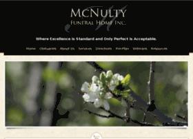Mcnultyfuneralhome.com thumbnail