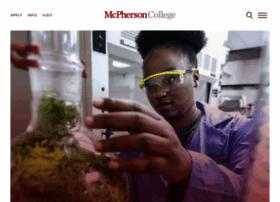 Mcpherson.edu thumbnail