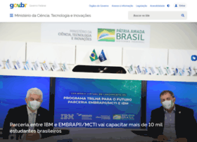 Mcti.gov.br thumbnail