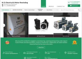 Mdelectricals.org thumbnail