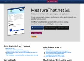 Measurethat.net thumbnail
