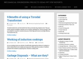 Mechanicalengineeringprojects.net thumbnail