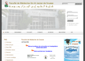 Medecinesousse.org thumbnail