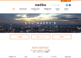 Mediba.jp thumbnail