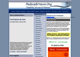 Medicaidwaiver.org thumbnail