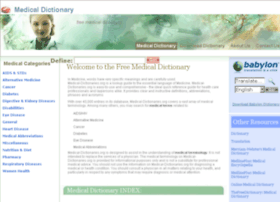 Medical-dictionaries.org thumbnail