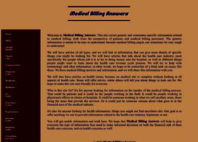 Medicalbillinganswers.com thumbnail