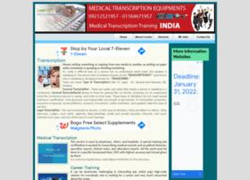 Medicaltranscriptiontraining.in thumbnail