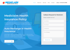 Mediclaim.ind.in thumbnail