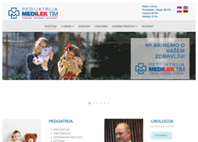 Medilek-tim.rs thumbnail