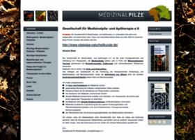 Medizinalpilze.de thumbnail