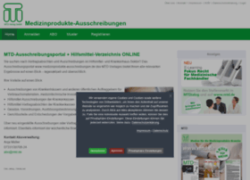 Medizinprodukte-ausschreibungen.de thumbnail