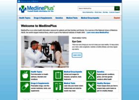 Medlineplus.gov thumbnail