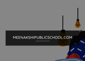 Meenakshipublicschool.com thumbnail