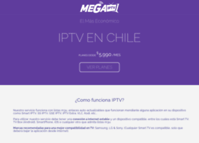 Megaiptv.cl thumbnail