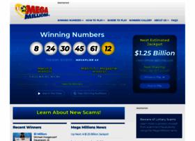 Megamillions.com thumbnail