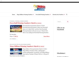 Megamillionswinningnumbers.net thumbnail