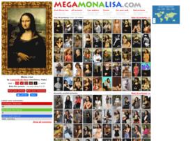 Megamonalisa.com thumbnail