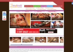 Mehndidesignsart.com thumbnail