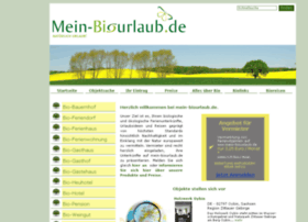 Mein-biourlaub.de thumbnail