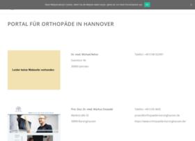 Mein-orthopaede-hannover.de thumbnail