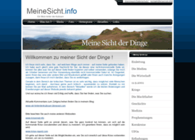 Meinesicht.info thumbnail