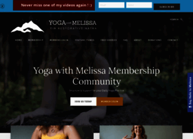 Melissawest.com thumbnail